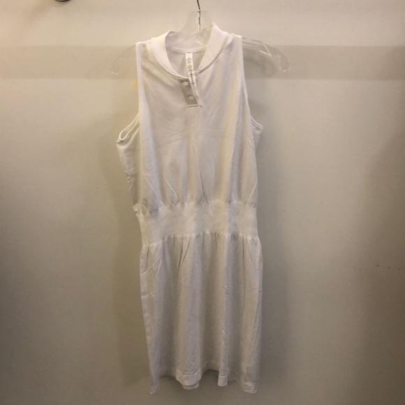 lululemon athletica Dresses & Skirts - Lululemon white sleeveless dress sz 8 70692